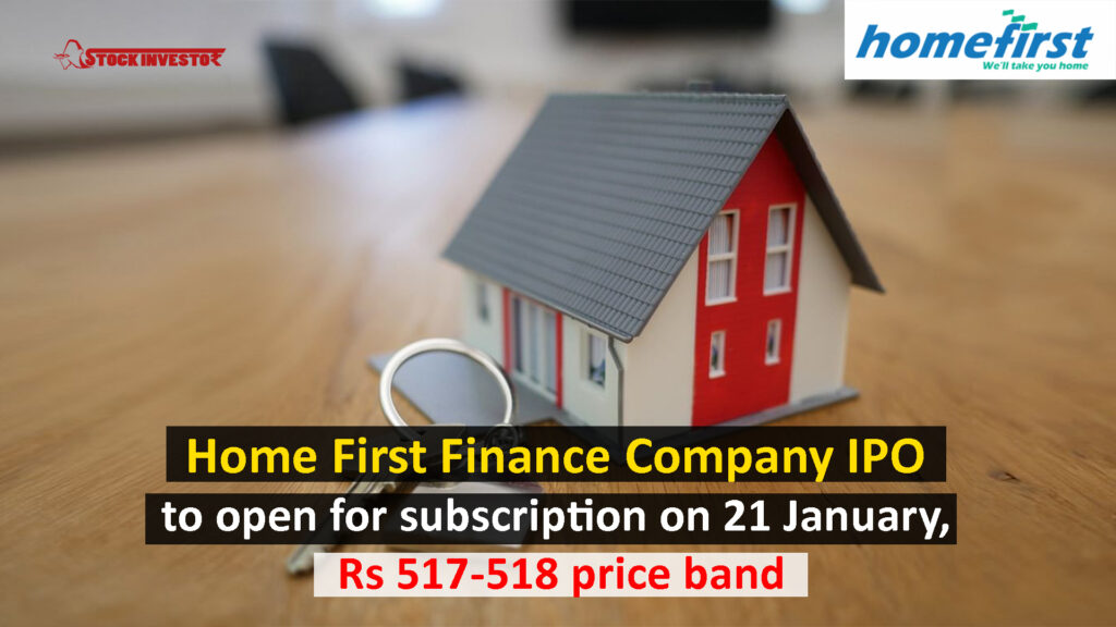 Home First Finance Company IPO