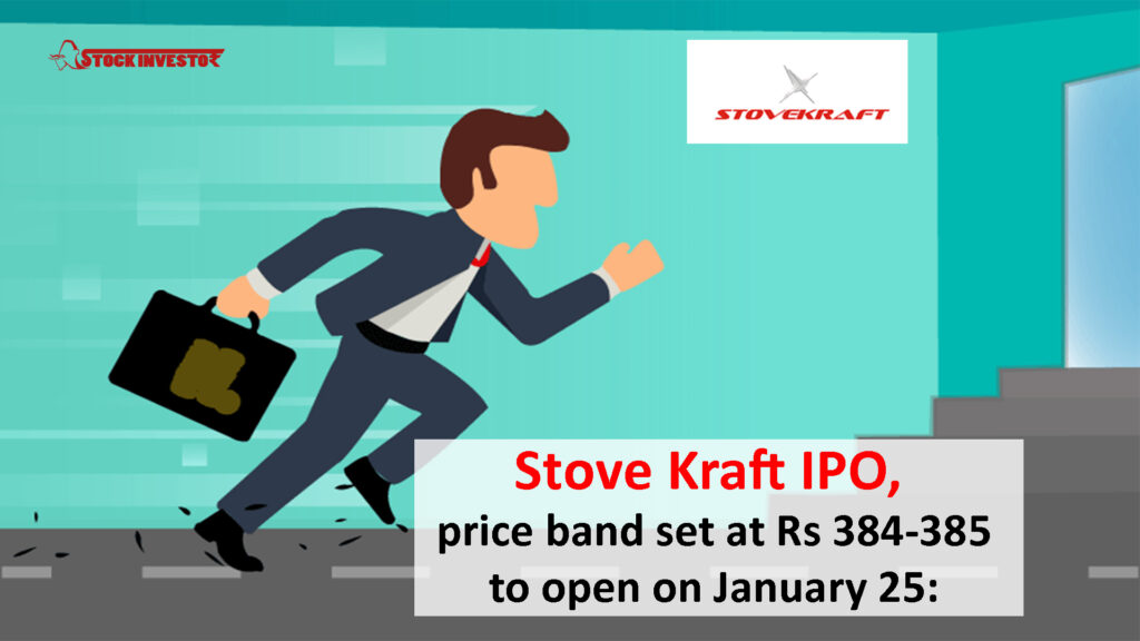 Stove Kraft IPO,