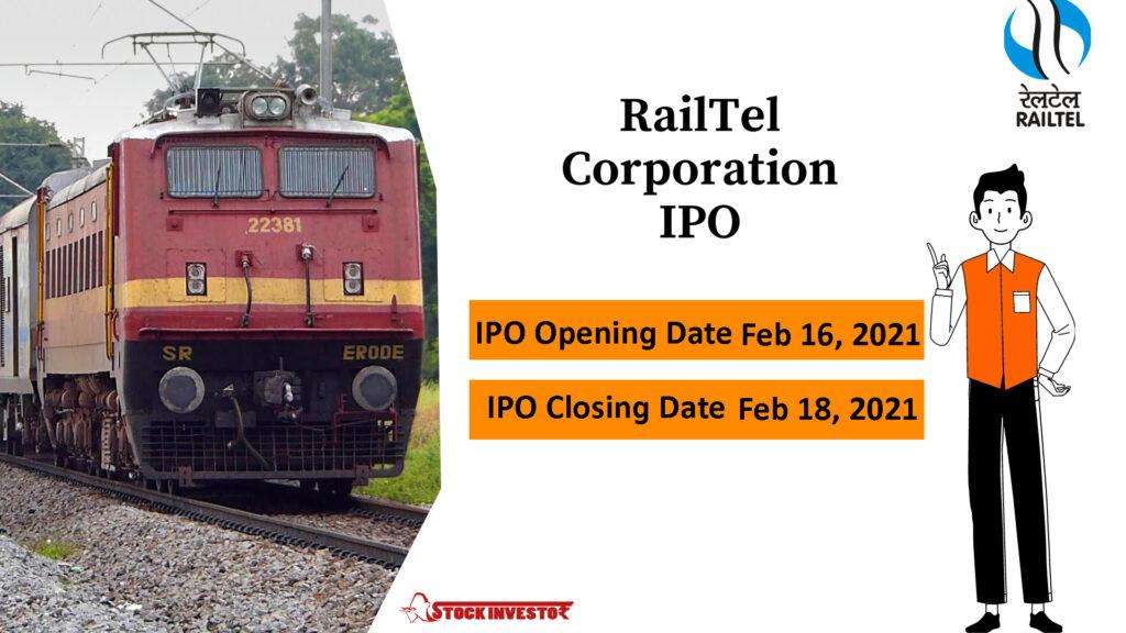 RailTel Corporation of India Limited IPO