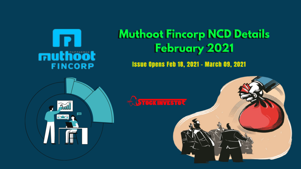 Muthoot Fincorp NCD Details February 2021