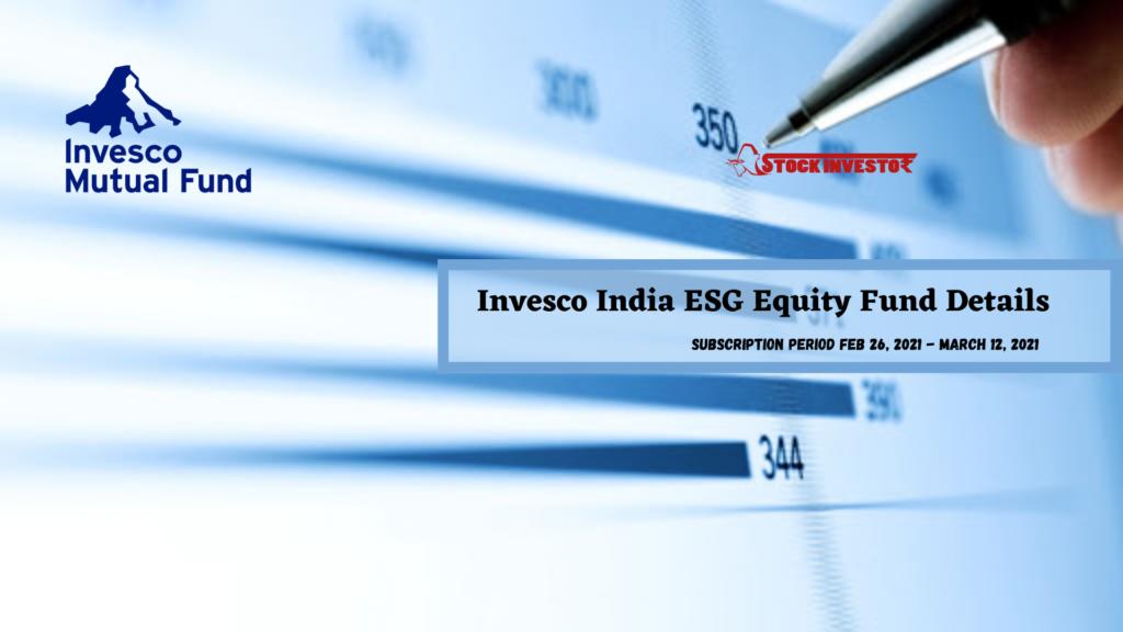 Invesco India ESG Equity Fund Details